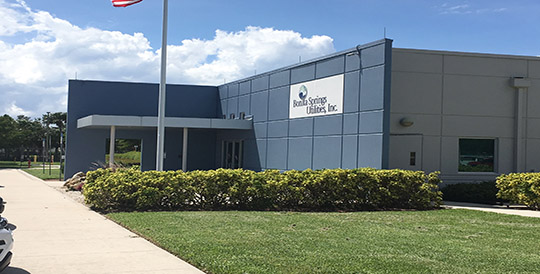 Bonita Springs Utilities, Inc. Operations Service Center